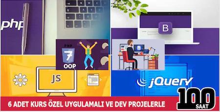 Web Geliştirme Uzmanlığı 9 Eğitim (150 Saat)