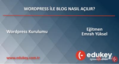 Wordpress ile Blog Oluşturma